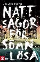 """Omslagsbild till boken """"Nattsagor för sömnlösa""""."""