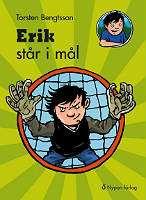 Omslagsbild till Erik står i mål.