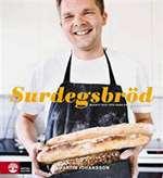 Omslagsbild till boken Surdegsbröd: recept och tips från en hemmabagare.
