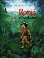Omslagsbild till Ronja rövardotter.