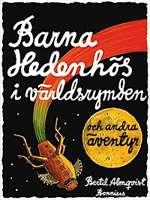 Omslagsbild till Barna Hedenhös i världsrymden och andra äventyr.