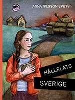 """Omslagsbild till boken """"Hållplats Sverige - jag, Almina""""."""