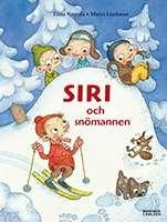 """Omslagsbild till boken """"Siri och snömannen""""."""