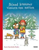 """Omslagsbild till boken """"Ibland kommer vintern om natten""""."""