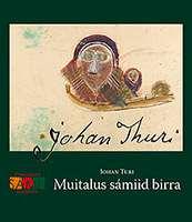 """Omslag till boken """"En bok om samernas liv"""" av Johan Turi."""