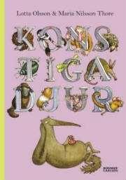 Omslagsbild till boken Konstiga djur.