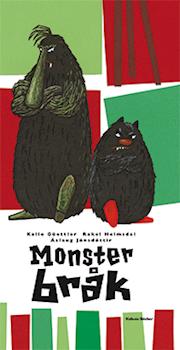 Omslagsbild till Monsterbråk.