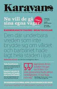 Omslagsbild till tidskriften Karavan nummer 2 2011.