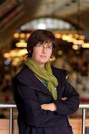 Författaren Christia Wahldén. Foto: Stefan Tell.