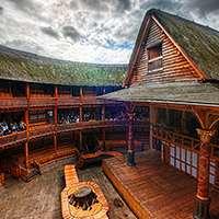 Interiör från Shakespeares Globe. Foto: Trey Ratcliff