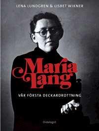 Omslagsbild till Maria Lang: vår första deckardrottning.