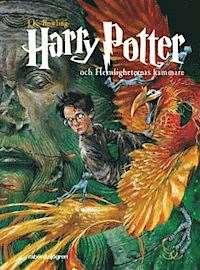 Omslagsbild till Harry Potter och hemligheternas kammare.