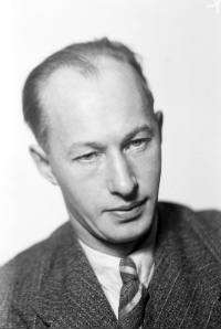 Eyvind Johnson. Foto: Jan de Meyere (Bild licensierad under Public domain via Wikimedia Commons)
