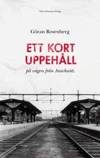 Omslagsbild till Ett kort uppehåll på vägen till Auschwitz.