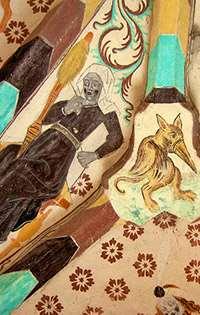 Målningar av Albertus Pictor i Härkeberga kyrka. Foto: Mats Thorburn, Flickr