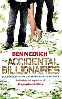 "Omslagsbild till boken ""The Accidental Billionaires""."