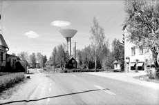 Vattentornet i Karlholmsbruk, Västlands socken 1962..