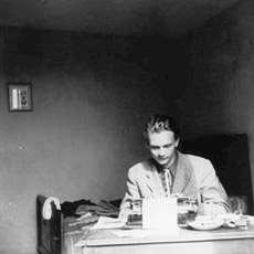 Författaren Stig Dagerman. Foto: Annemarie Dagerman