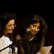 Ahdaf Soueif och Hanan al-Shaykh.