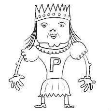 Tecknad prinsessa