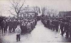 Sockenborna i Östervåla 1904
