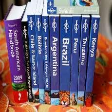 Reseguidesböcker om olika länder