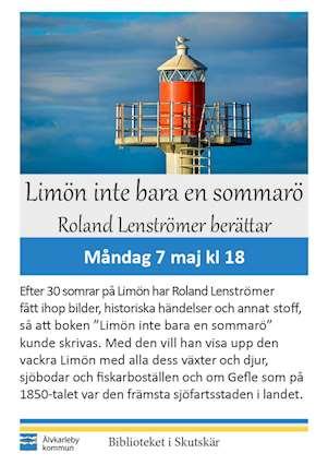 Affisch om Limön inte bara sommarö
