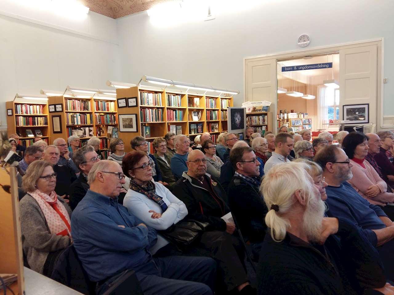 Publik vid föredrag