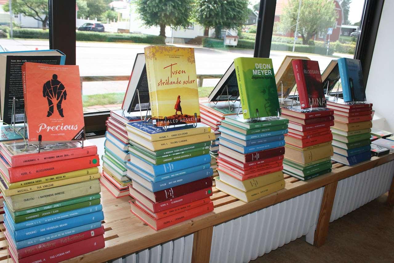 Exponerade böcker