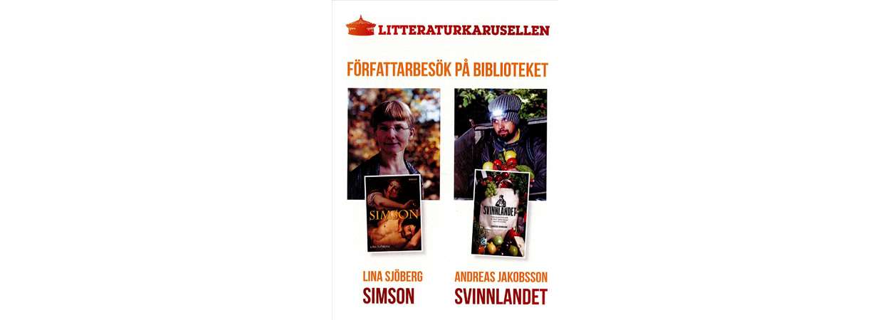 Författarbesök i november av lina Sjöberg och Andreas Jakobsson